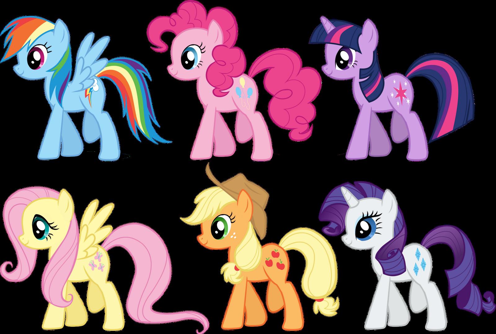 My little pony cartoon characters - photo#8