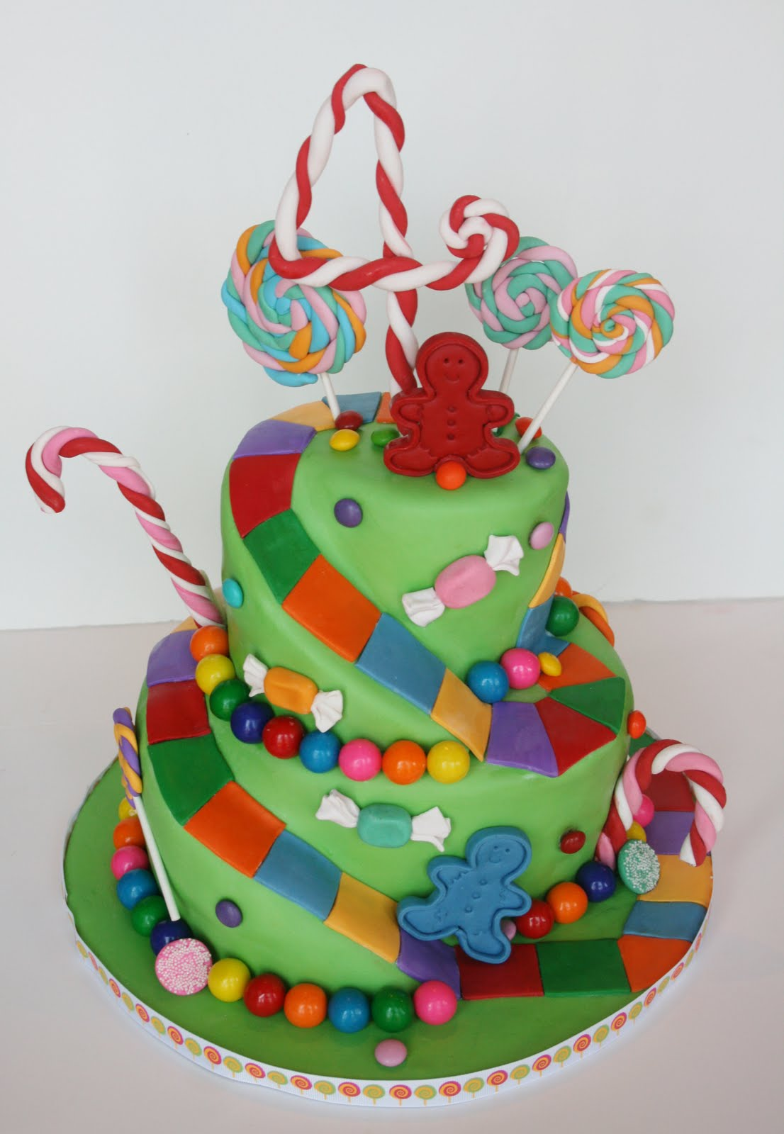 And Everything Sweet Candyland Cake