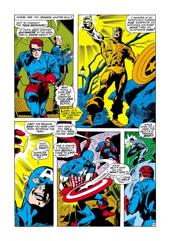 Captain America (1968) Issue #116 #30 - English 15