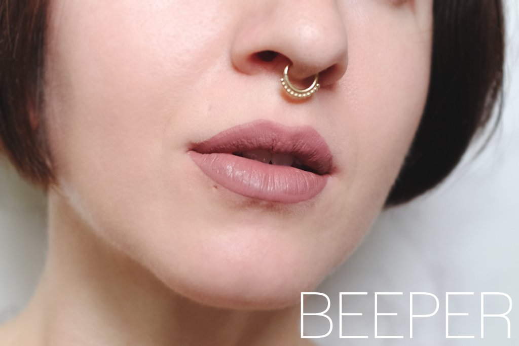 ColourPop Cosmetics Ultra Matte Lip Beeper Swatch - Mini Penny Blog