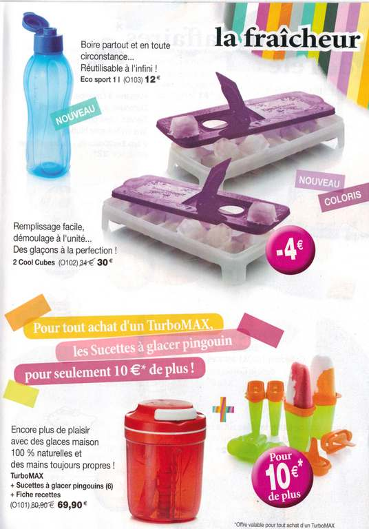 Honeysantupp la p 39 tite laeti promotions juillet ao t 2013 - Pieces detachees tupperware ...