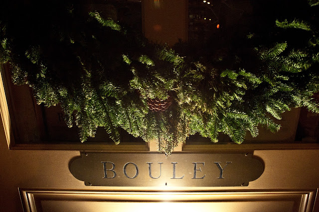 Bouley Door with Wreath