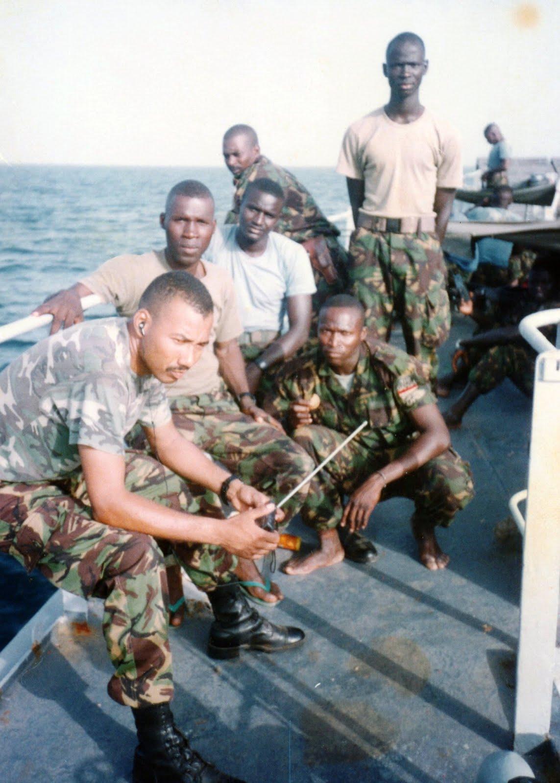 Deployment to Guinea Bissau 1998