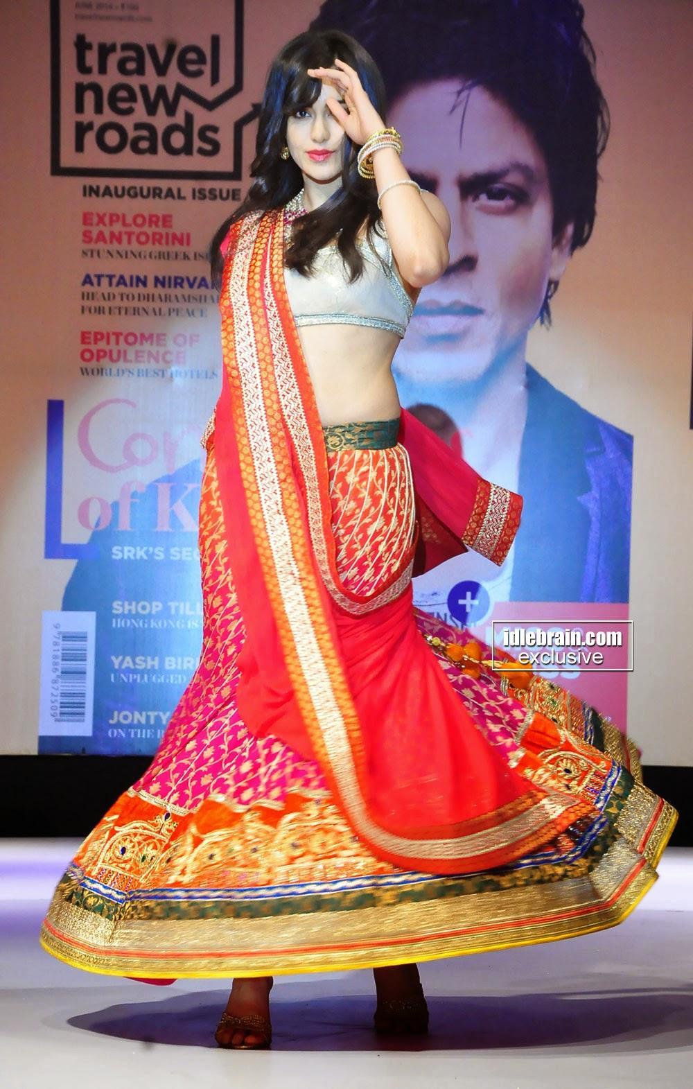 Adah Sharma Ramp Walk @ Travel New Roads Magazine Launch