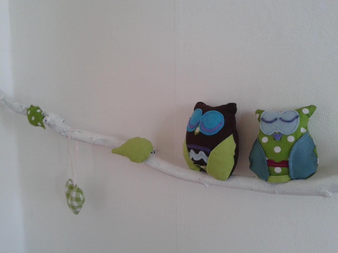 Kinderkamer Kinderkamer Wanddecoratie : Huis tuin en mama: met de uiltjes op stok!