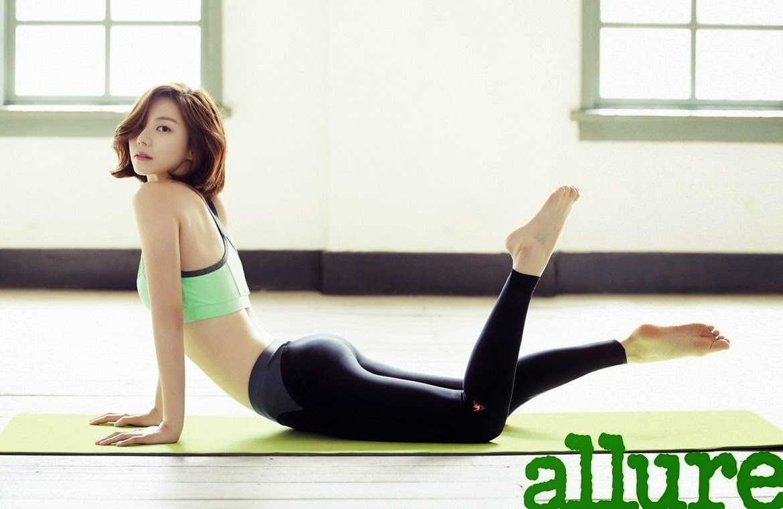 Park Soo Jin - Allure May 2014