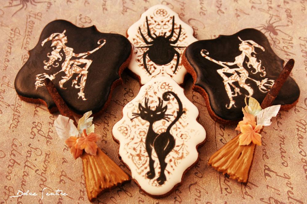 galletas halloween coquetas y elegantes Mama Muffins y Dolce Sentire