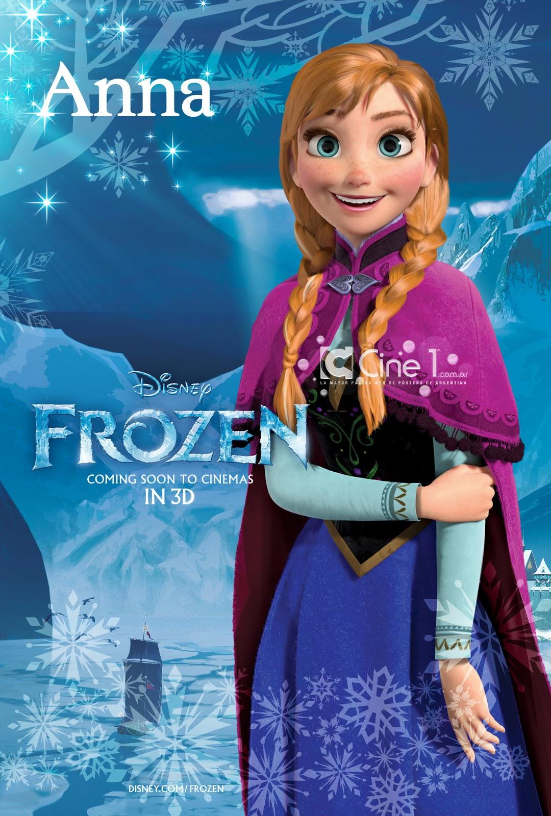 Frozen', primeros pósters de la nueva aventura animada de Disney