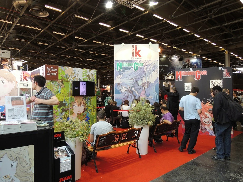 Japan Expo Les Stands : Japan expo les stands