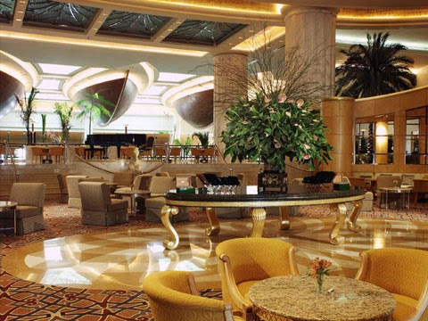Inside Grand Hyatt Dubai
