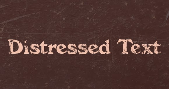 Distress Text in Seconds With PhotoShop Brushes