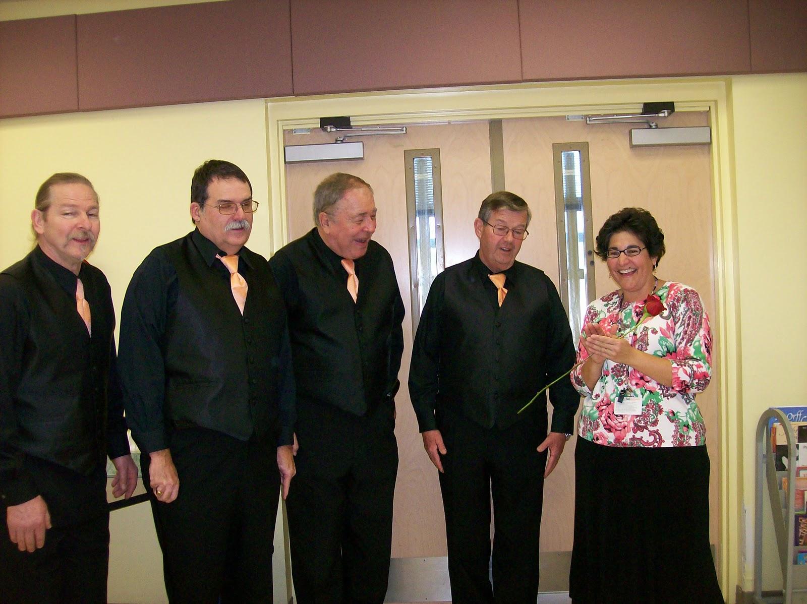 Barbershop Quartet : The Big Orange Chorus Barbershop Quartet