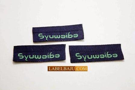 Jual Label Baju Printing Murah