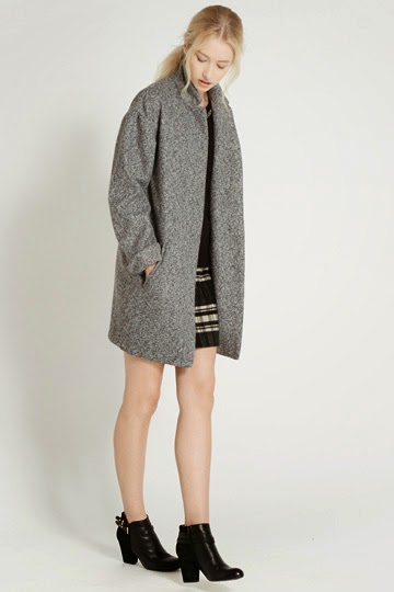 grey oasis coat
