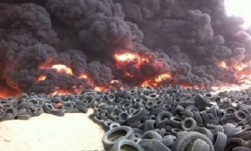 أكثر من 50 صورة و 10 مقاطع لتغطية حريق امغرة يوم الجمعة 4-5-2012