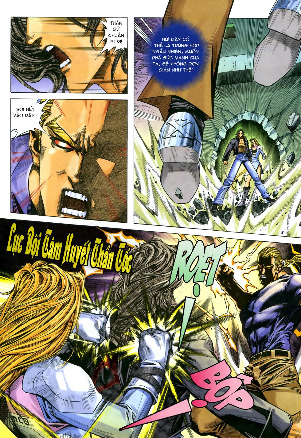 X Bạo Tộc chap 33 - Trang 21