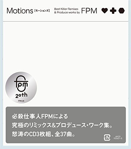 [Single] FPM – Motions [Best Killer Remixes & Produce works by FPM] (2016.03.16/MP3/RAR)