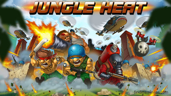 Jungle Heat a games like clash of clans