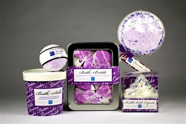Beau Bain Luxurious Handcrafted Bath Fizzes and Bombs