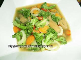 Resep Sayur Brokoli
