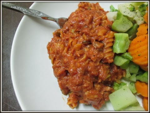 Sweet and Spicy Tuna Pasta