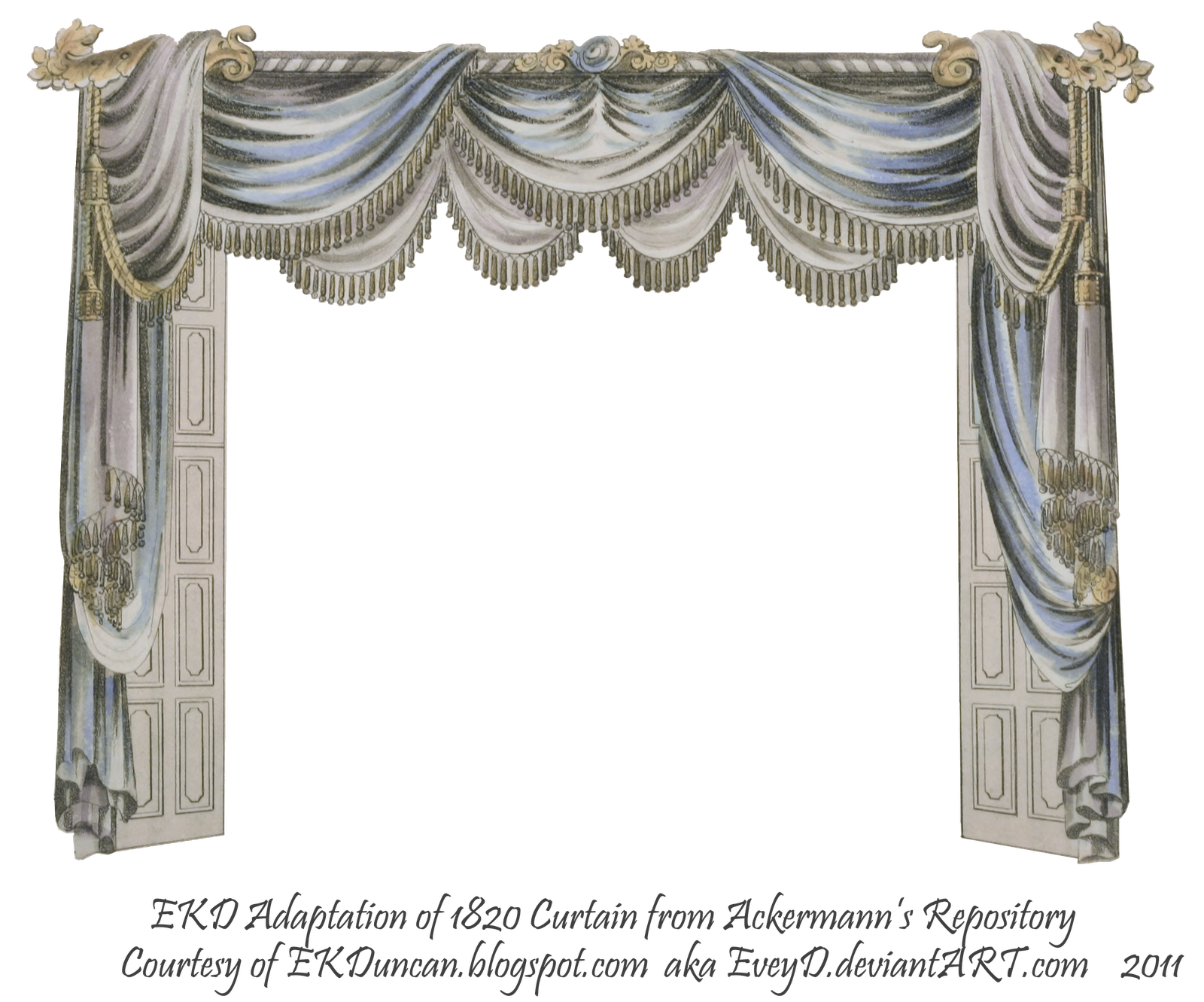 Ekduncan my fanciful muse waiting for midnight new for Blue theatre curtains png