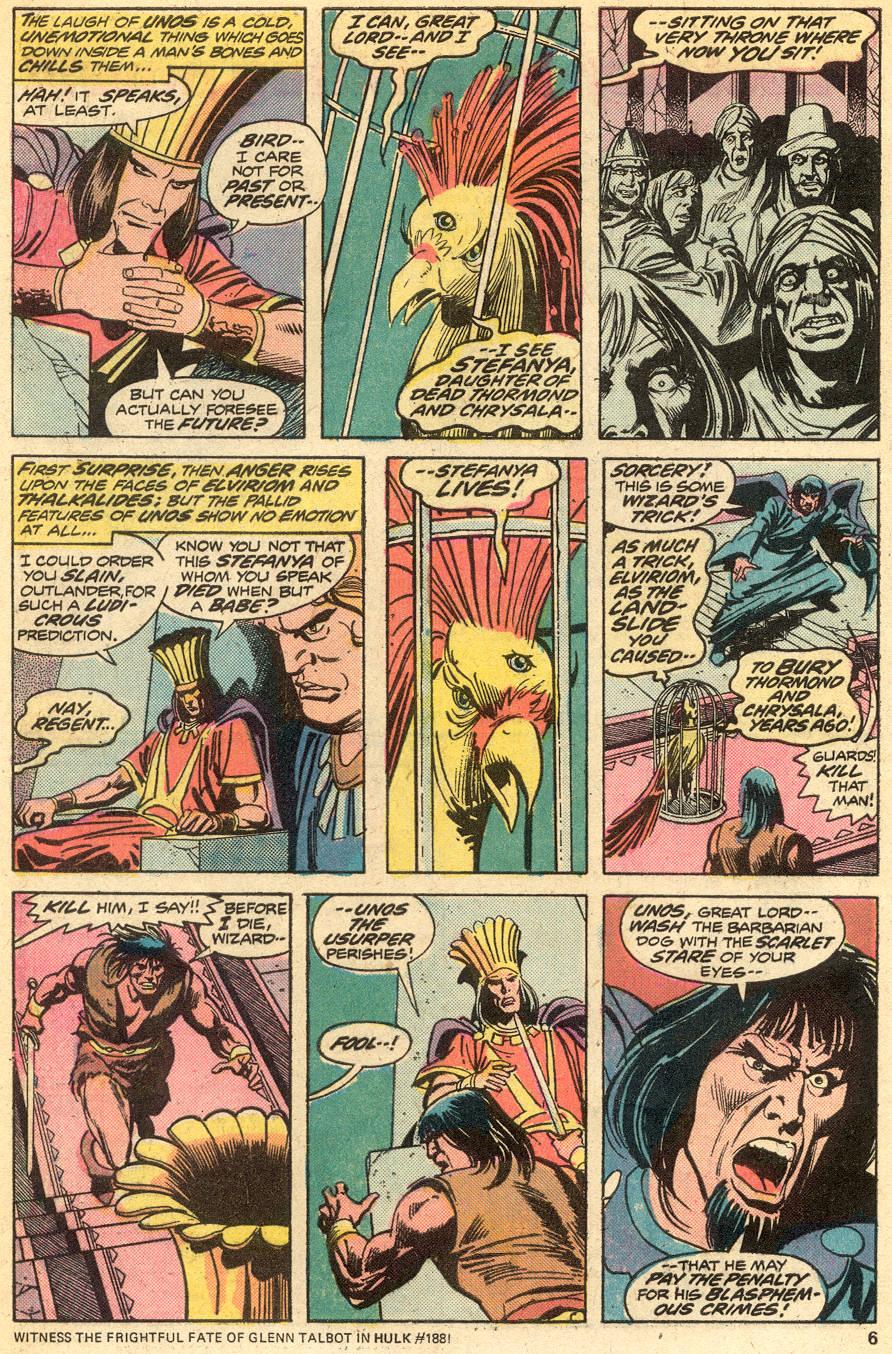Conan the Barbarian (1970) Issue #51 #63 - English 5
