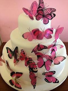 Tortas de Boda con Mariposas, parte 5