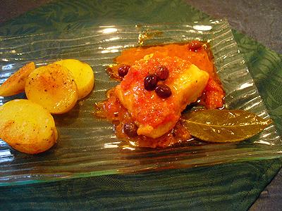Morue en sauce tomate la recette facile par toqu s 2 cuisine - Cuisiner la morue dessalee ...