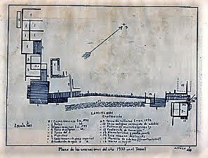 Plano 1933 según Lafuente Vidal
