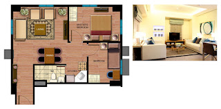 Avida Towers Sucat Two Bedroom Unit Plan