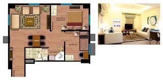 Avida Towers Sucat Two Bedroom Unit Plan