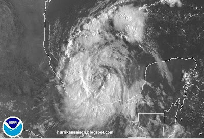 Tropischer Sturm NATE bedroht Veracruz, Mexiko, Nate, Veracruz, Sturmwarnung, Mexiko, Golf von Mexiko, Verlauf, Vorhersage Forecast Prognose, September, aktuell, 2011, Hurrikansaison 2011