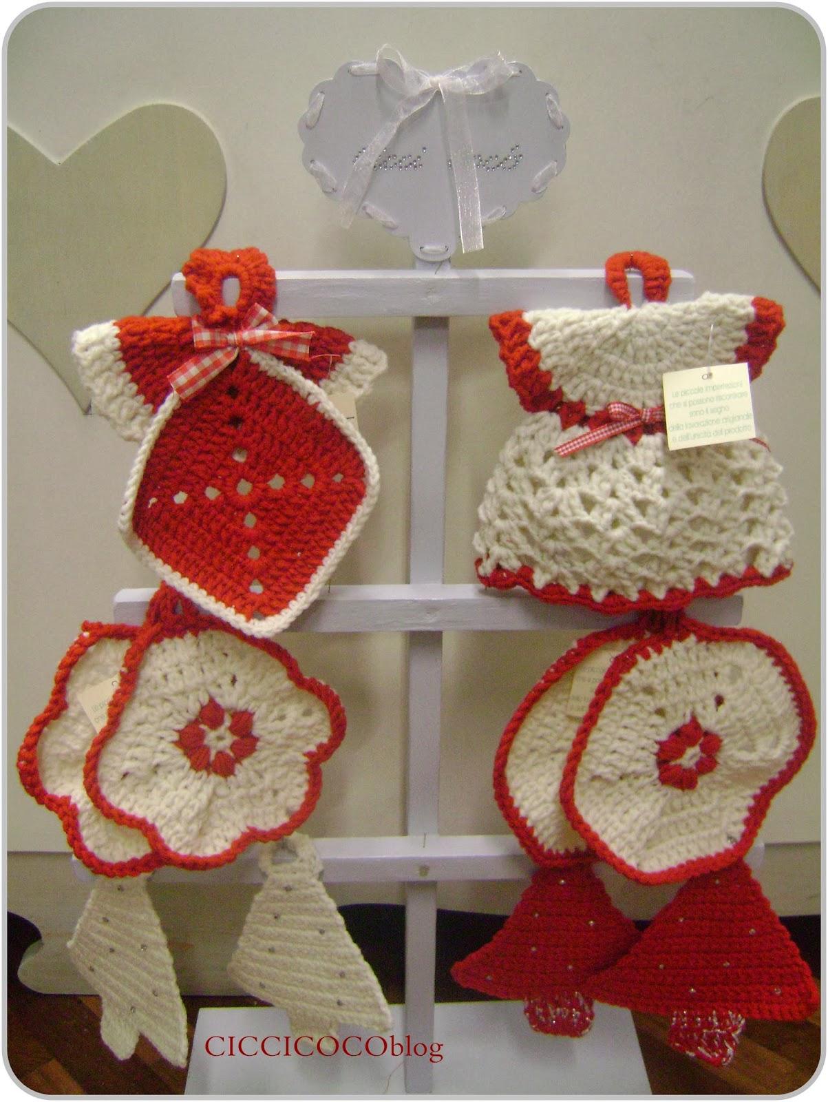 Ciccicocoblog idee regalo per natale presine uncinetto - Idee decorative per natale ...