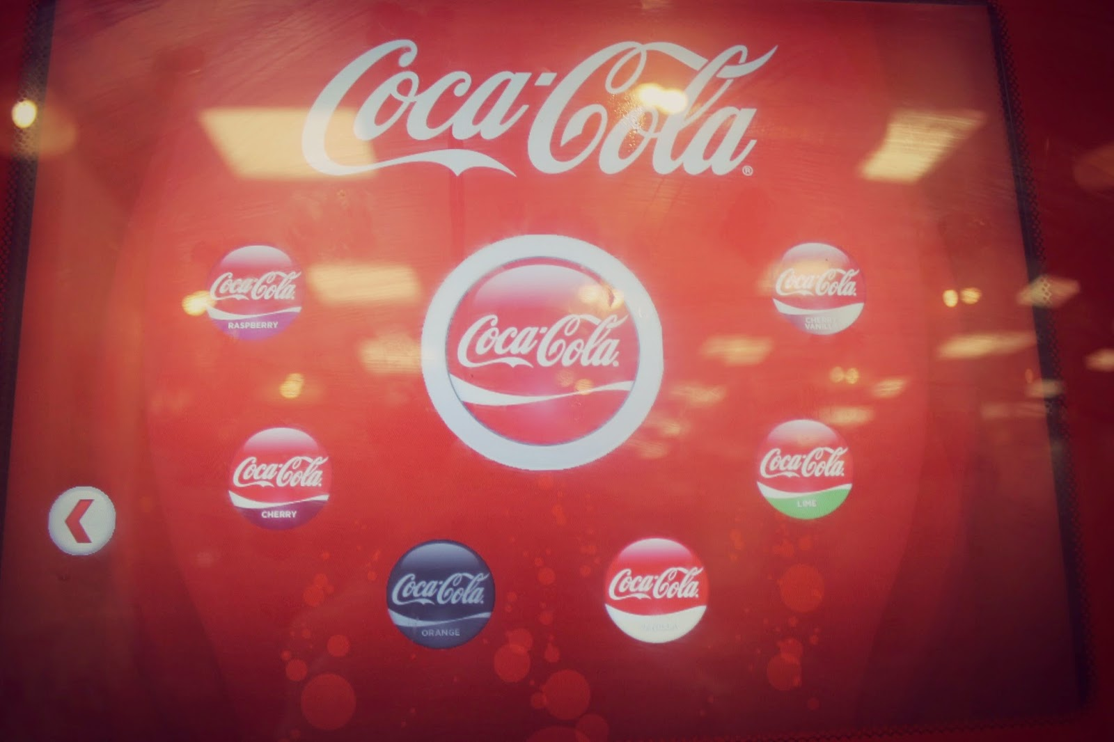 different coca cola flavours available