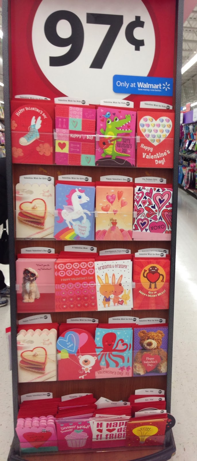 the savvy gals – Walmart Valentine Cards