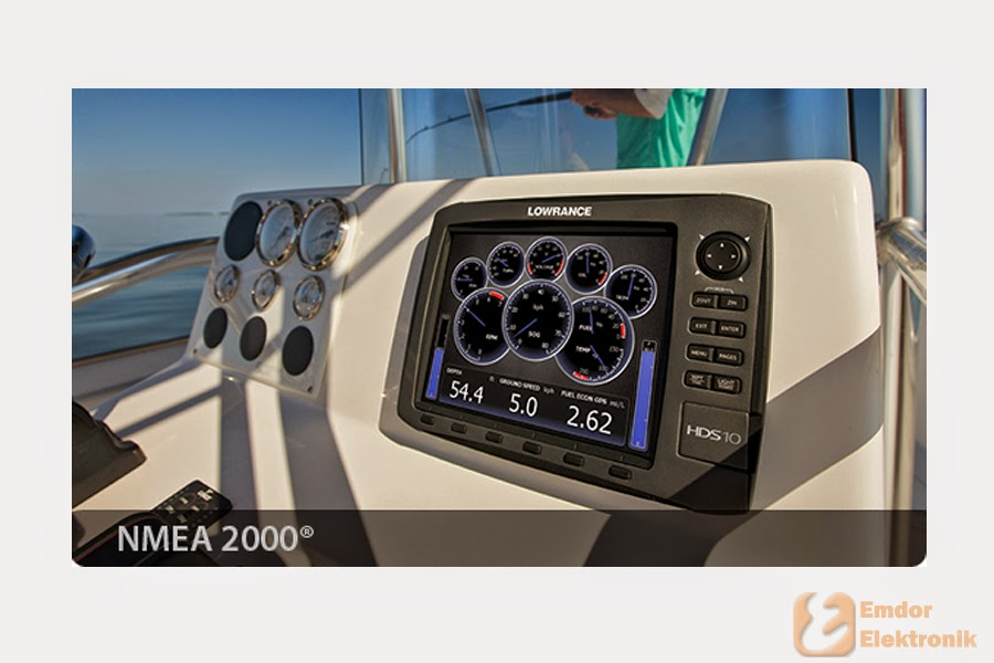 картплоттер nmea 2000