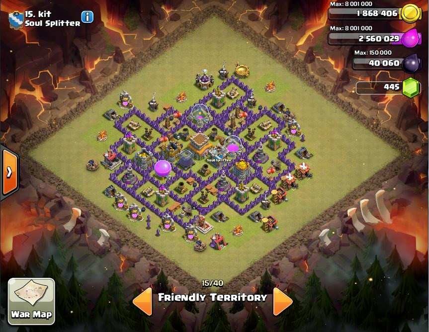 kit - CoC Clans War Base