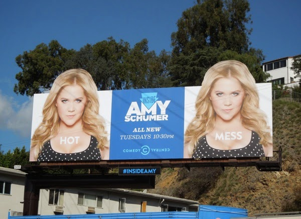 Inside Amy Schumer season 2 Hot Mess billboard