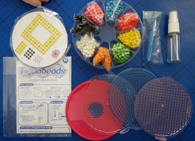 Aquabeads Deluxe Set Contents - Aquabeads designs for boys