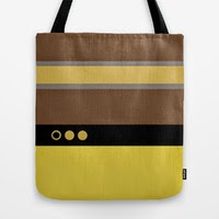 Geordie La Forge - Star Trek: The Next Generation Tote Bags