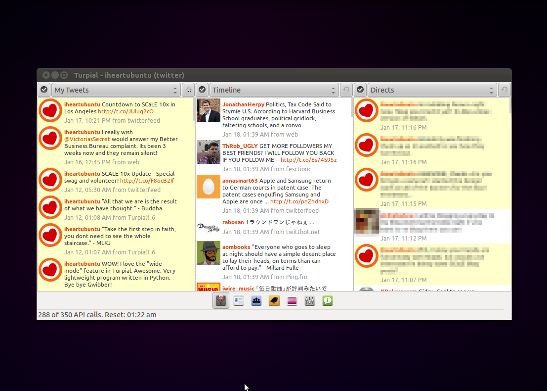 Turpial is a microblogging client for social sites and networks such ...