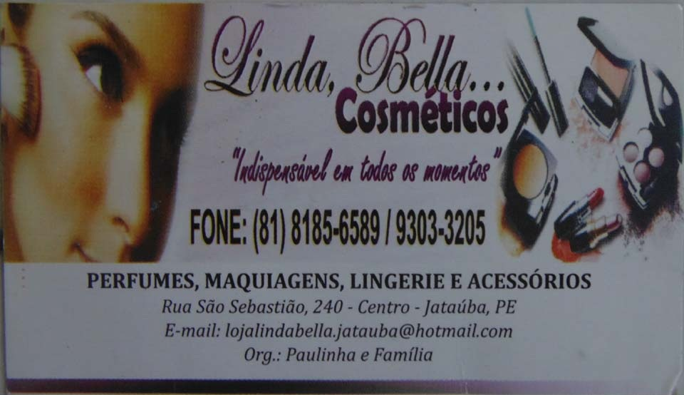 Linda Bela Cosméticos