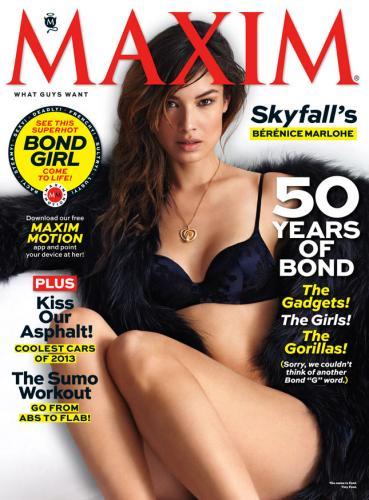 Bérénice Marlohe, Maxim Magazine 2012, Maxim Magazine, Bérénice Marlohe photo