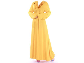 Dress_Maxi 6855_Yellow
