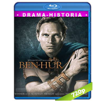 Ben-Hur (1959) BRRip 720p Audio Trial Latino-Castellano-Ingles 5.1