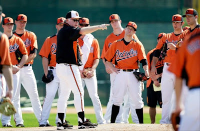 orioles spring training Feb 2013