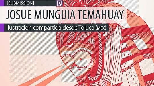 Ilustración. Biografía j392 de JOSUE MUNGUIA.