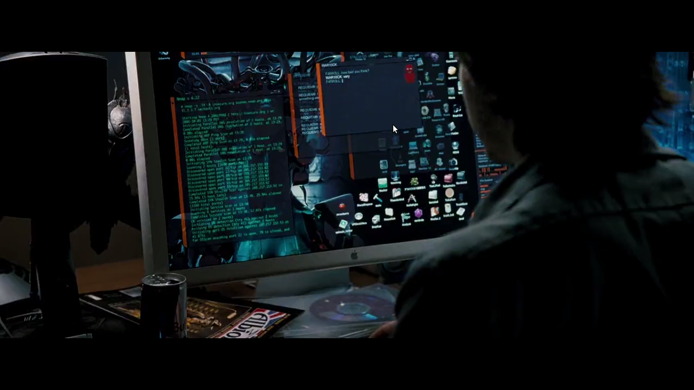 Desktop Matthew Farrell di film Die Hard 4