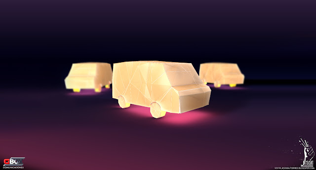 Jesse gutierrez, Toon, cars, 3d, peru,artista peruano 3d diseño 3d